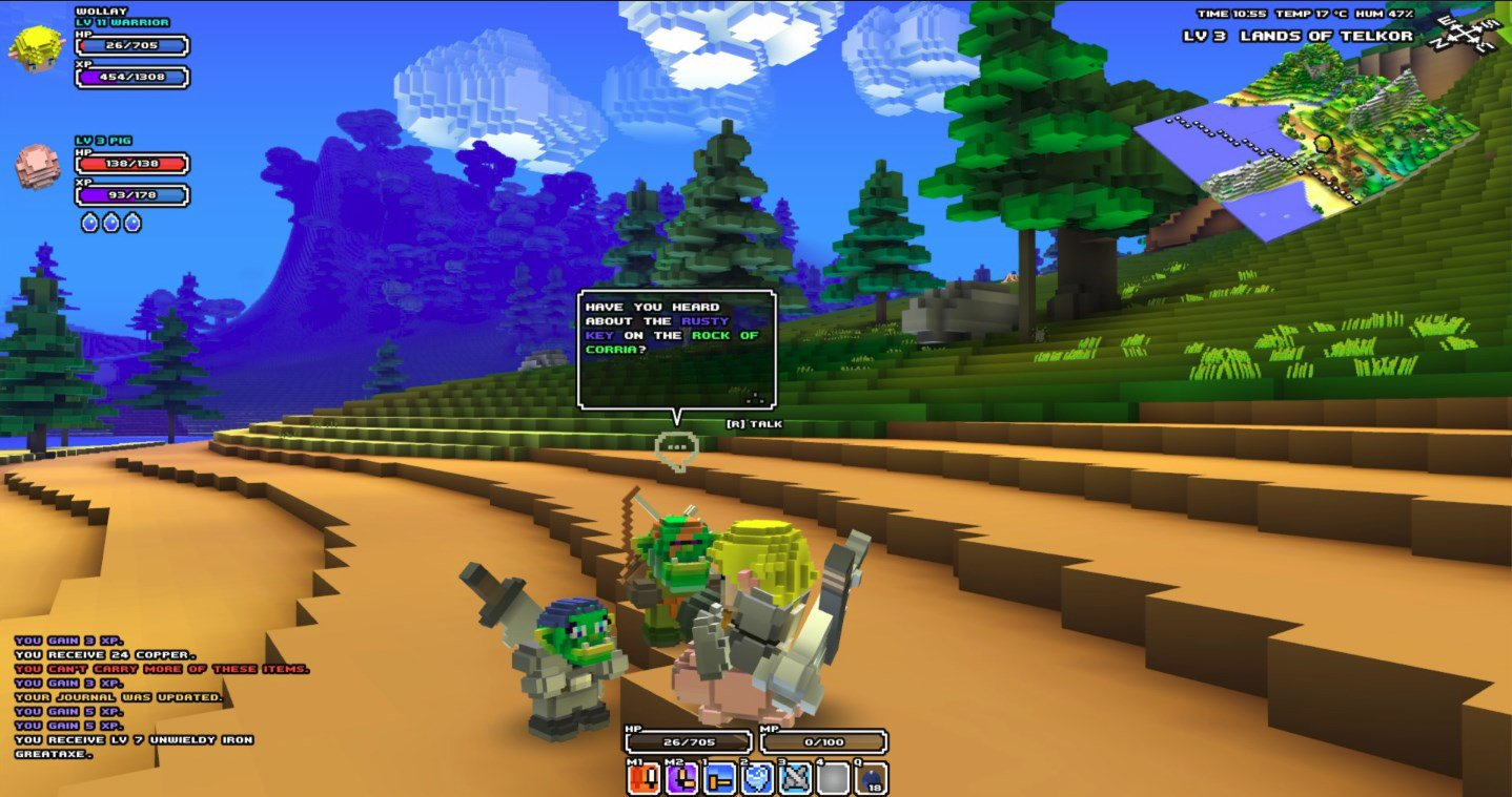 Cube World Full Mobile Game Free Download