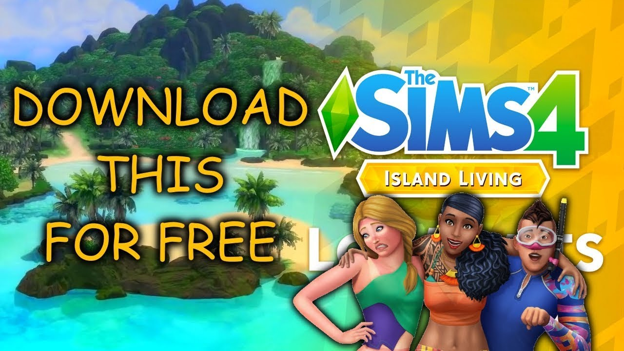 The Sims 4 Island Living Apk iOS Latest Version Free Download
