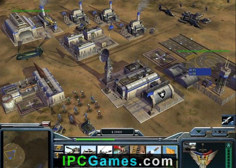 Command & conquer: generals zero hour free download.