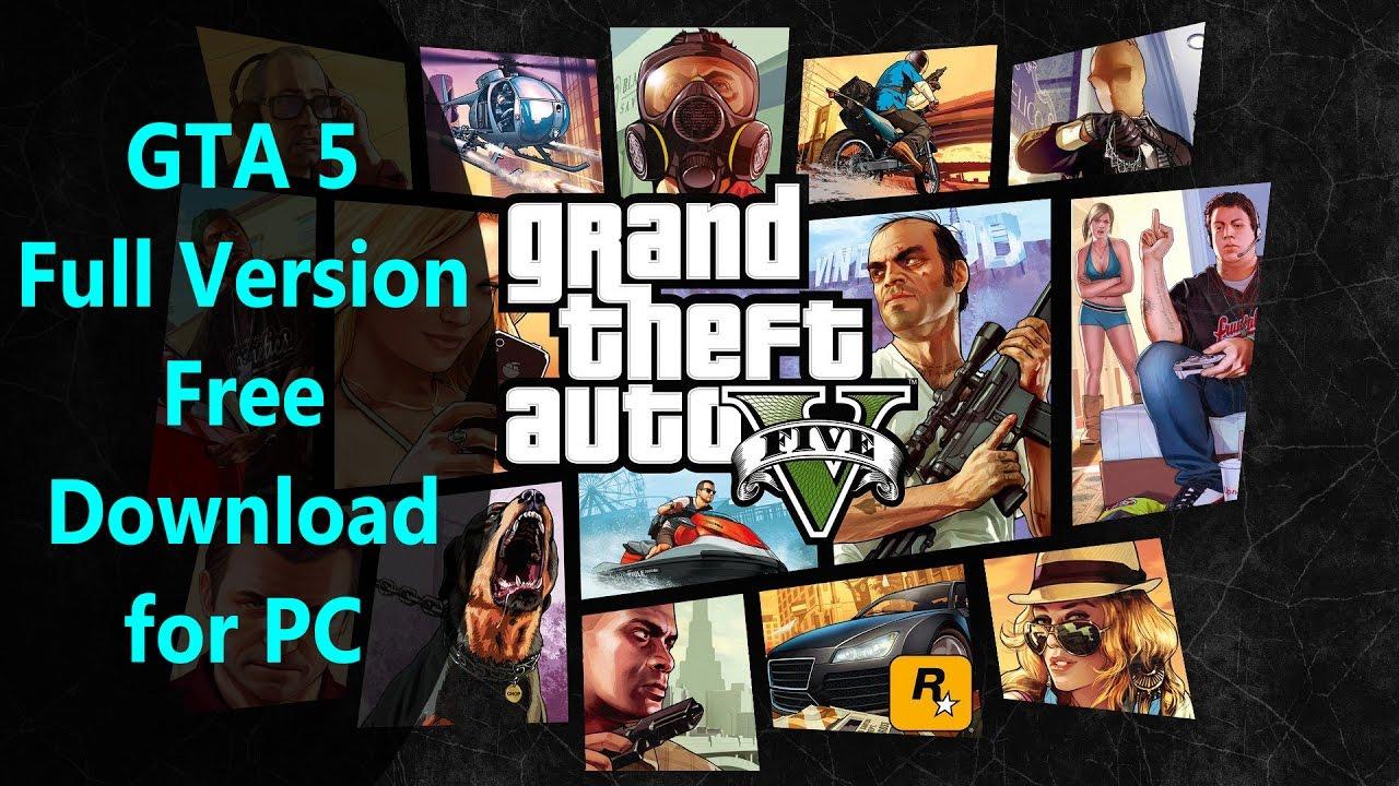 Gta 5 download pc full version free