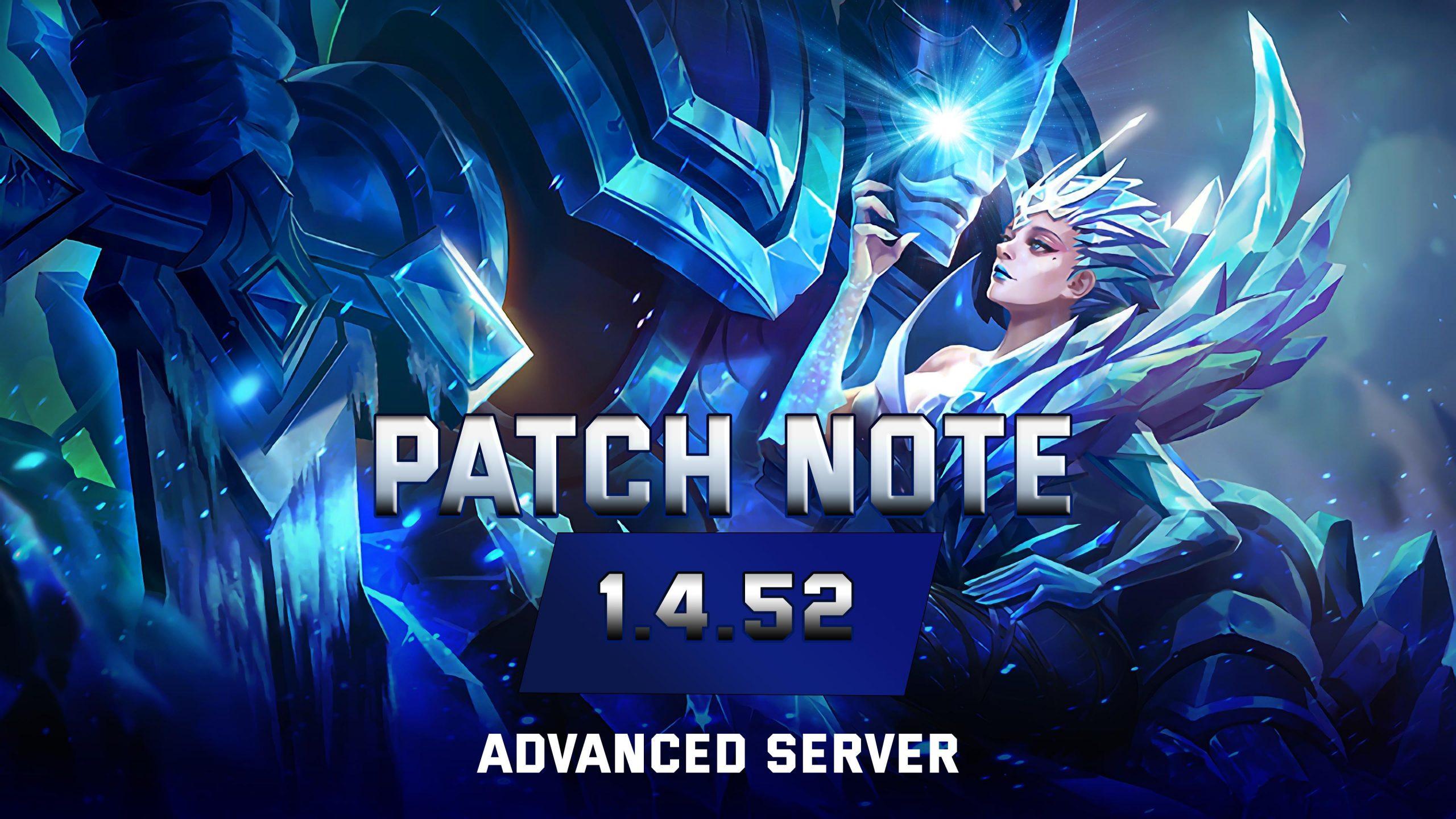 Mobile Legends – 1 4 52 Patch Notes