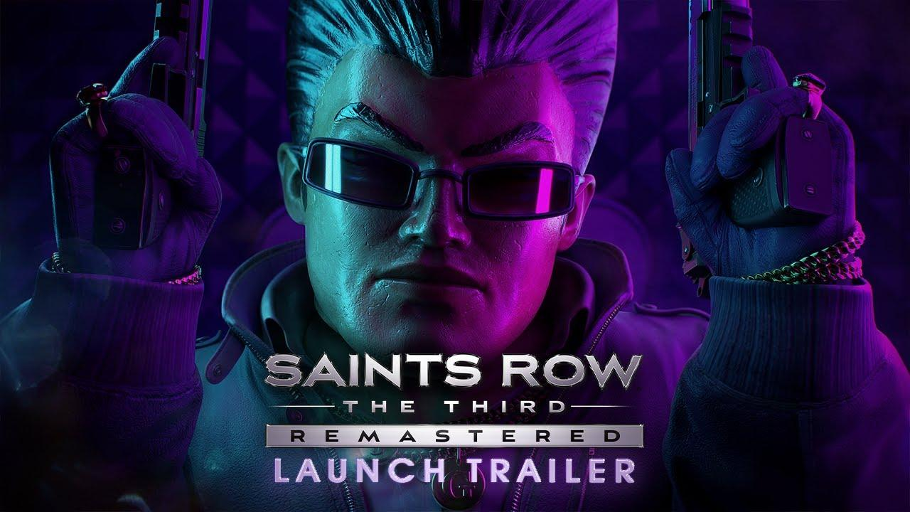 Saints Row: The Third Remastered - Chaos Continues in the Official Launch Trailer