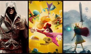 GET ASSASSIN'S CREED II, RAYMAN LEGENDS AND CHILD