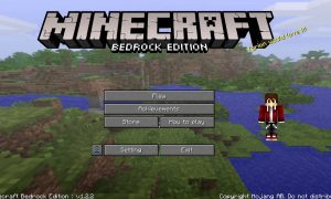 Minecraft Bedrock Edition PC Version Game Free Download