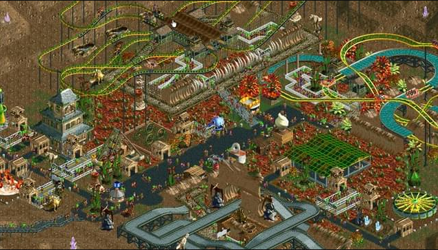 Roller Coaster Tycoon PC Game Free Download