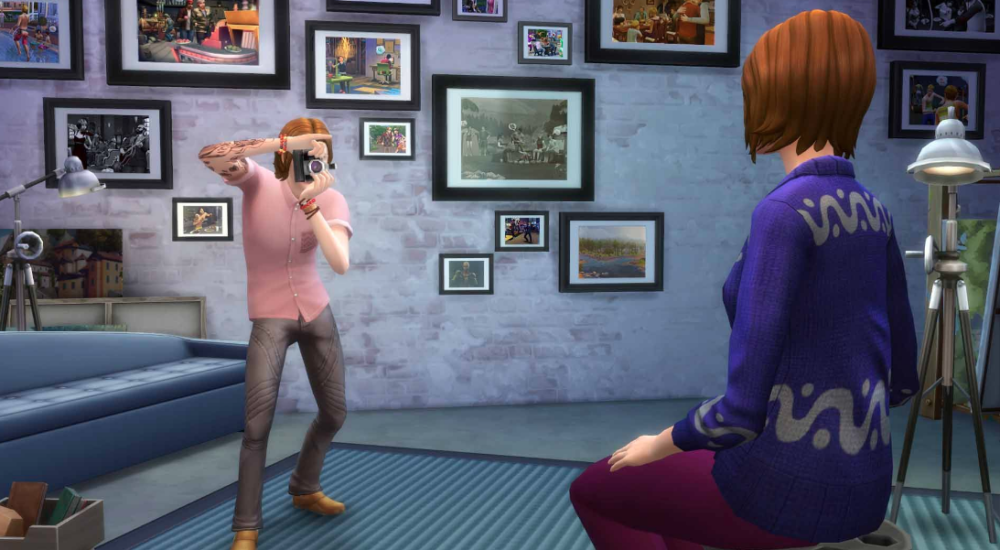 Sims 4 Get To Work Version Full Mobile Game Free Download