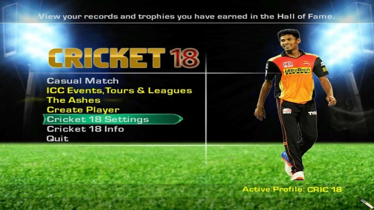 EA Sports Cricket 2018 iOS/APK Version Full Game Free Download