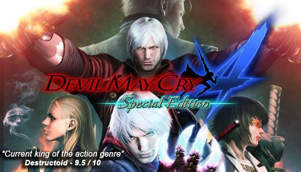 Devil May Cry 4 PC Version Full Game Free Download