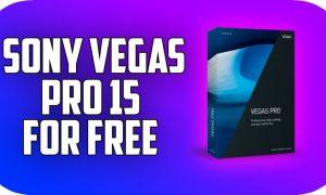 Sony Vegas Pro 15 PC Game Free Download