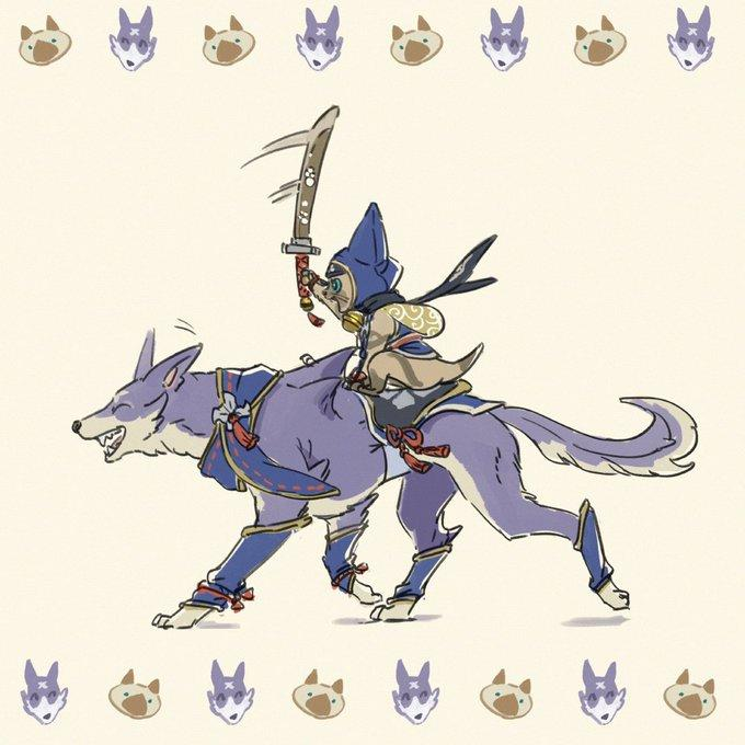 Monster Hunter Rise Releases Concept Art for Companion Pets