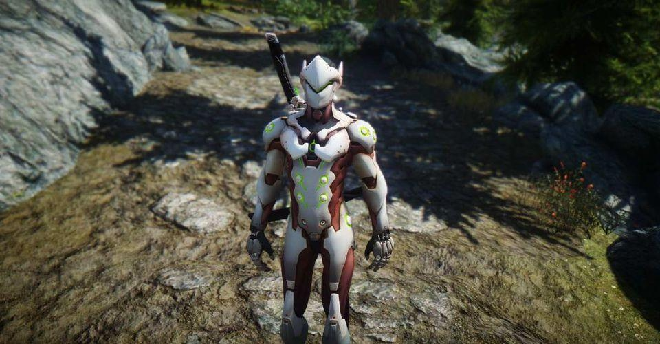 Skyrim Mod Adds Playable Overwatch Characters