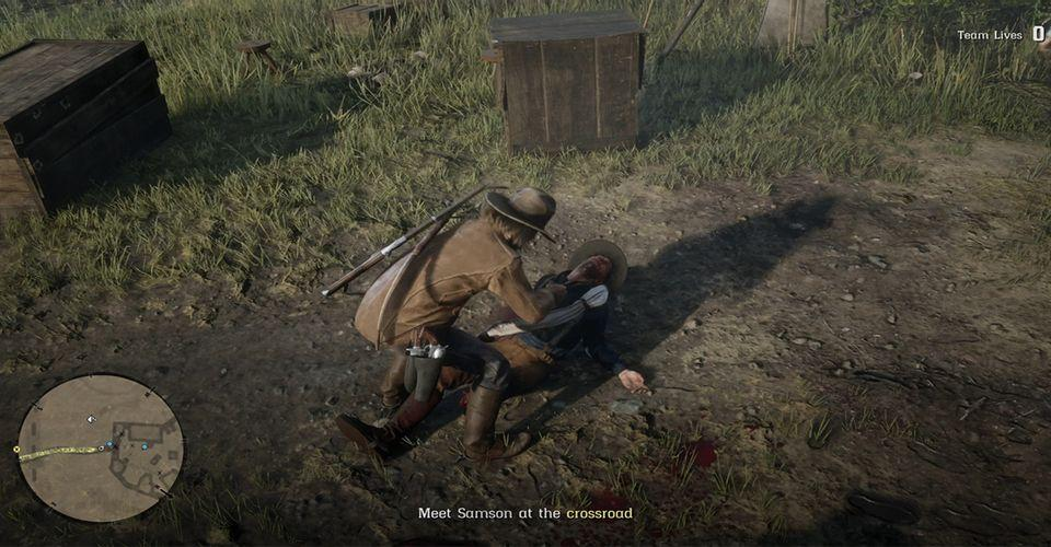 Red Dead Redemption 2 Player Catches NPC in Dishonorable Act