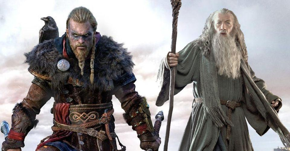 Assassin's Creed Valhalla Players Find Lord of the Rings Easter Egg