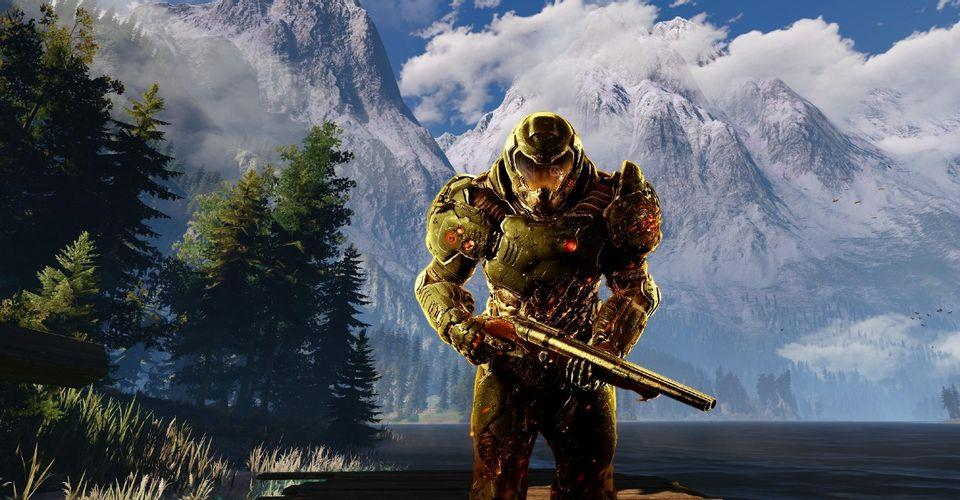 Doom 1 & 2 Mod Makes Game Open-World