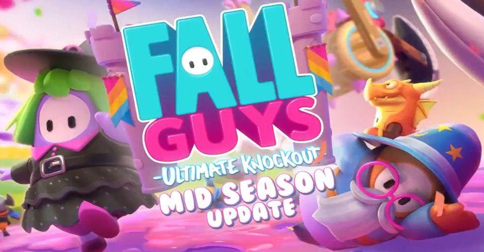 Fall Guys Releases Mid-Season 2 Update