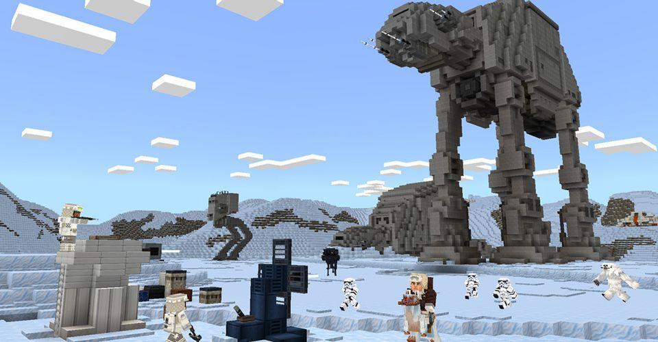 Minecraft Releases Star Wars DLC
