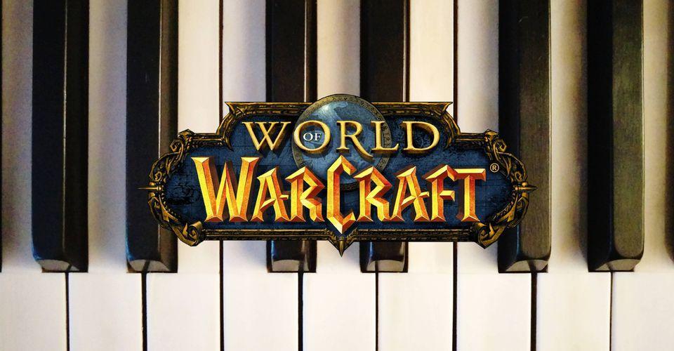 World of Warcraft Player Raids Using a Piano