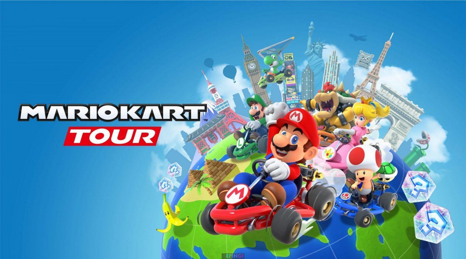 Mario Kart Tour PC Latest Version Game Free Download