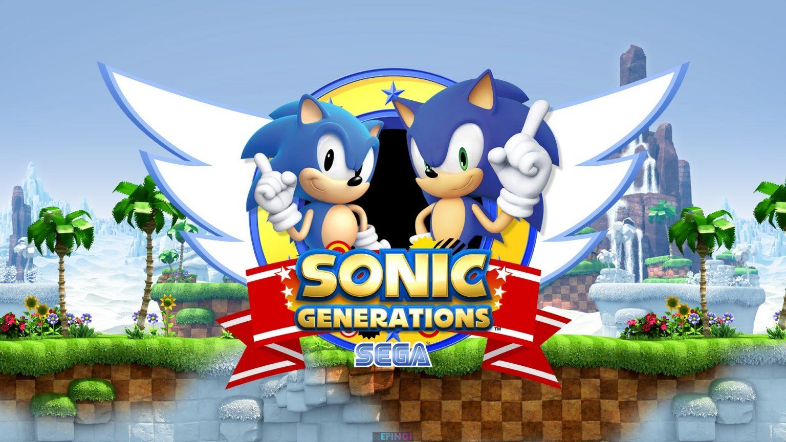 Sonic Generations Version Full Mobile Game Free Download