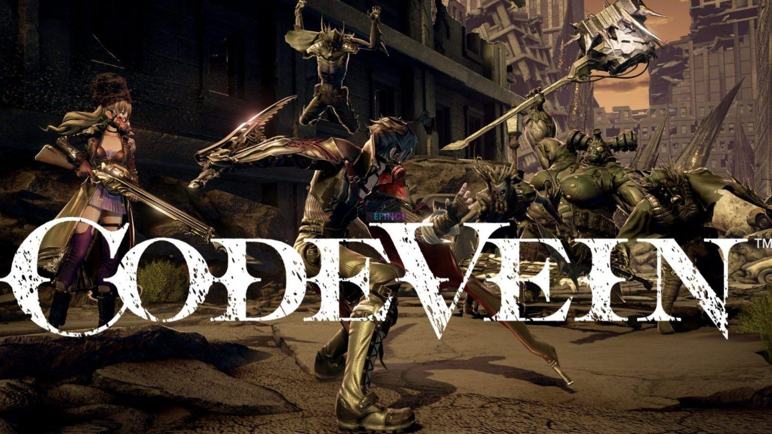 Code Vein Cracked PC Full Unlocked Version Download Free Online Multiplayer Game Torrent
