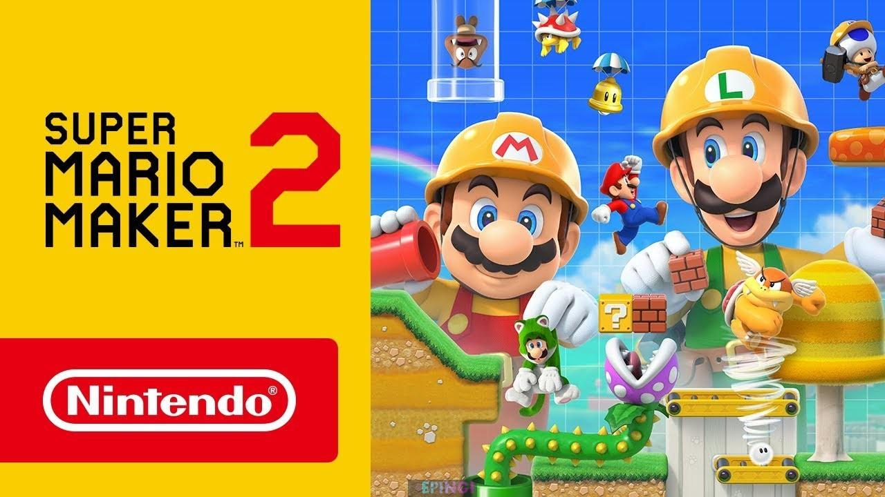 Super Mario Maker Free Full Version PC Game Download
