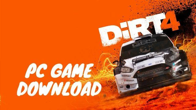 DiRT 4PC Full Version Free Download