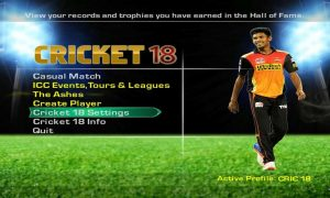 EA Sports Cricket 2018 Full Version Free Download