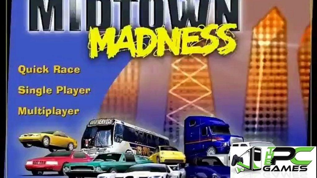 MIDTOWN MADNESS 1 PC Version Full Free Download