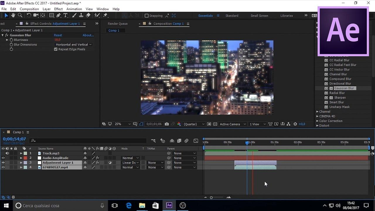Adobe After Effects CC 2017 iOS/APK Version Full Game Free Download