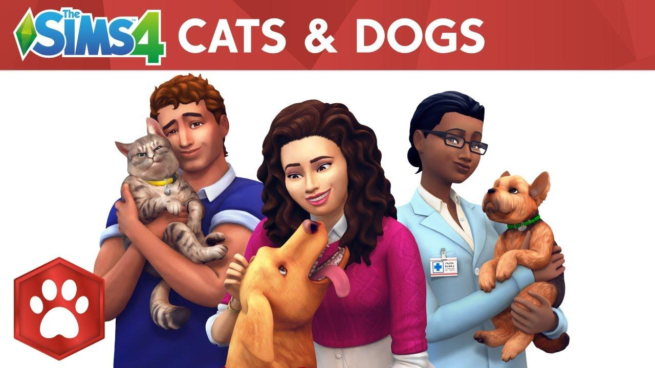 The Sims 4 Cats and Dogs PC Version Full Free Download