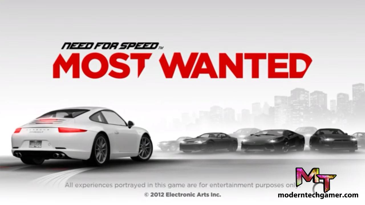 Need for Speed Most Wanted 2012 APK Download Latest Version For Android