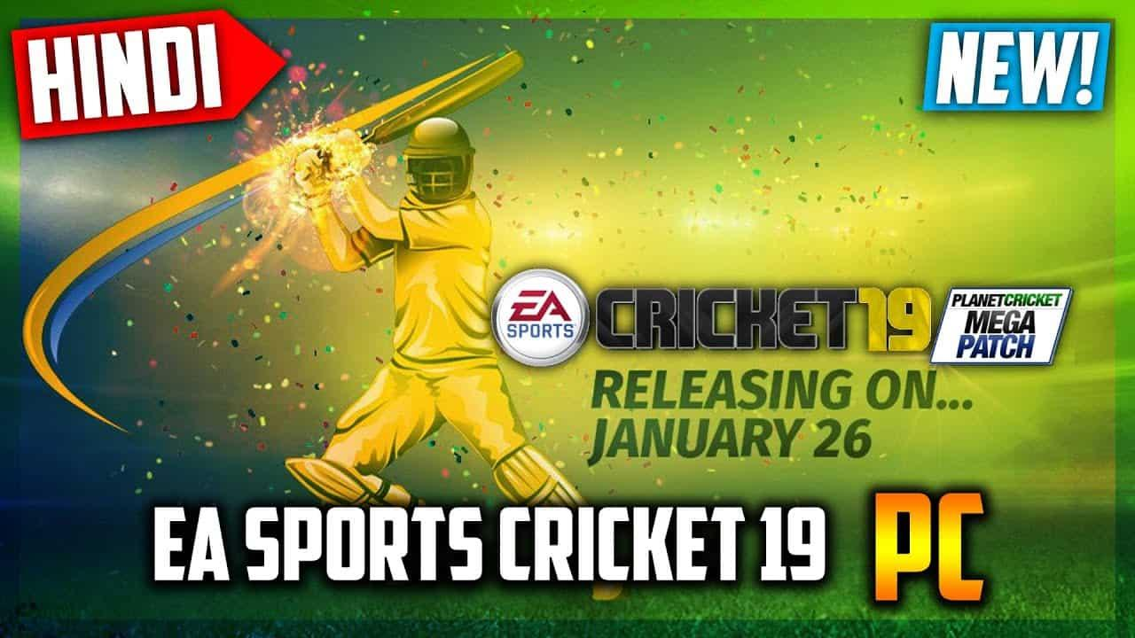 EA Sports Cricket 2019 PC Download Game for free