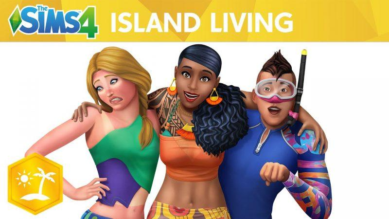The Sims 4 Island Living APK Mobile Full Version Free Download