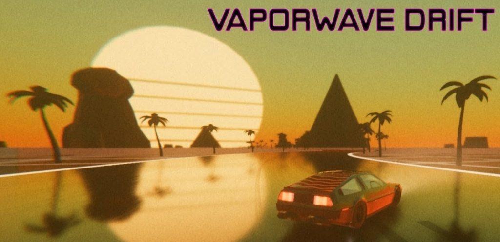 Vaporwave Drift DARKSiDERS Free Download PC windows game