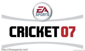 EA Sports Cricket 2007 Free Download PC windows game