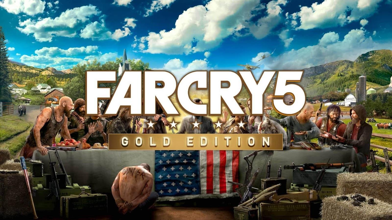 Far Cry 5: Gold Edition v1.011 + 5 DLCs iOS/APK Full Version Free Download