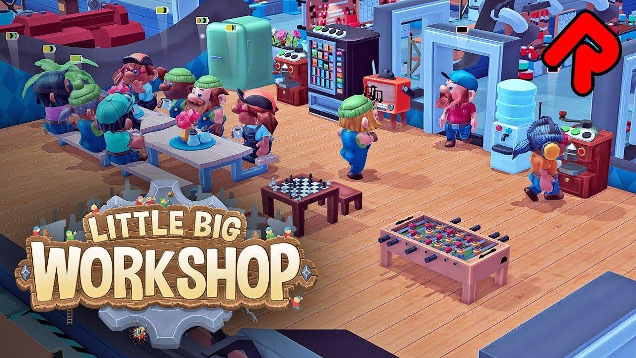 Little Big Workshop Free Download For PC